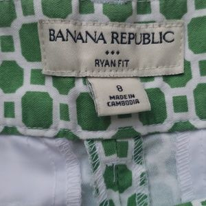 Banana Republic Shorts - Banana Republic patterned shorts